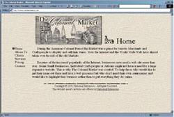 Screenshot of ColonialMarket.com