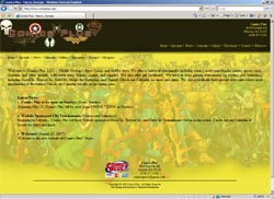 Screenshot of Comics Plus's Web Site