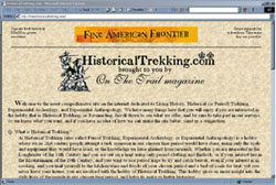 Screenshot of HistoricalTrekking.com